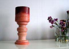 Wax table lamp