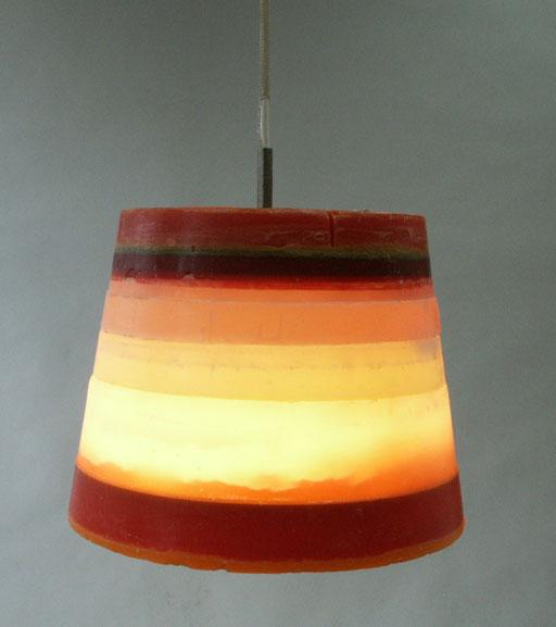 Wax ceiling lamp