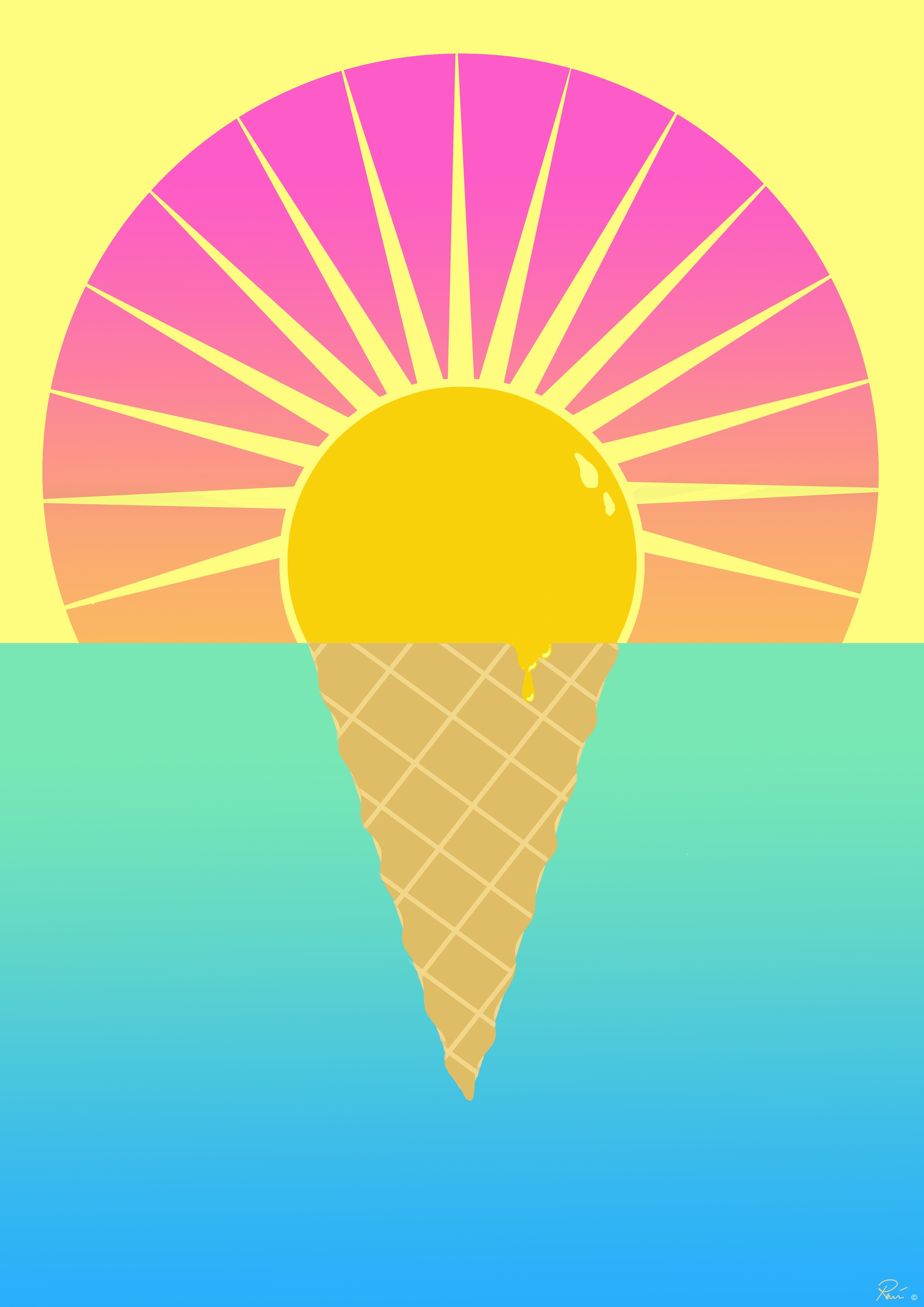 I scream for ice-cream |
