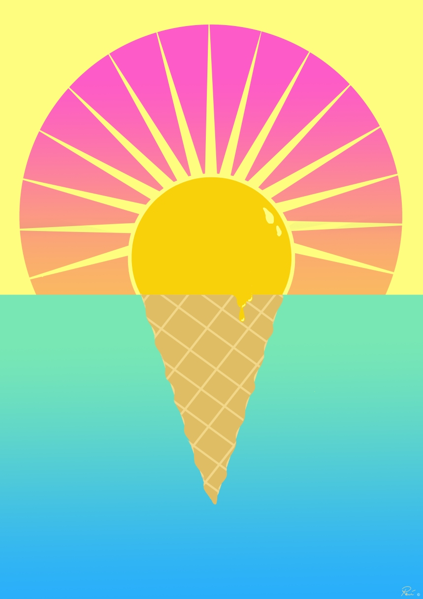 sunset icecream2